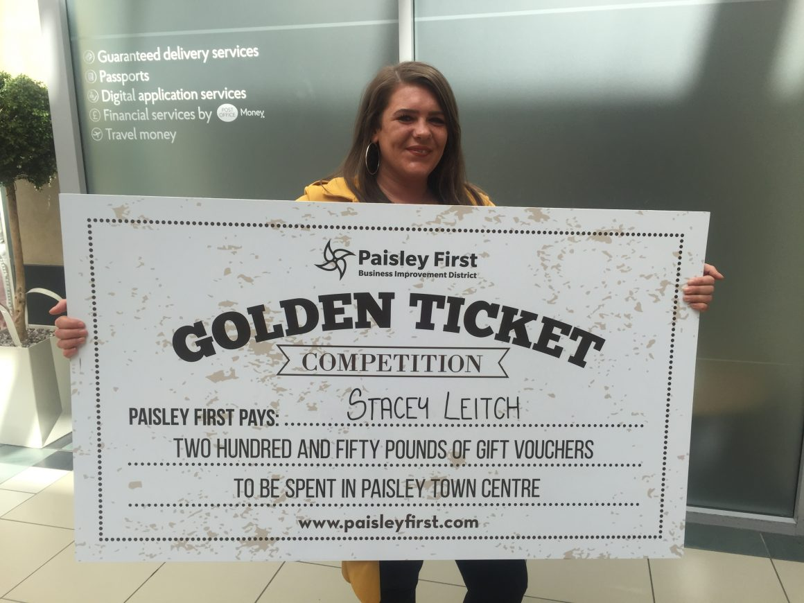 Christmas Golden Ticket Competition