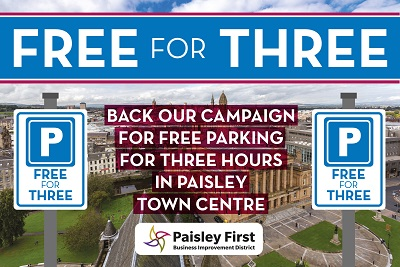 Free for Three Parking Campaign
