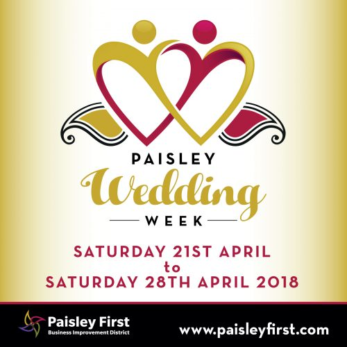 Paisley Wedding Week 2018