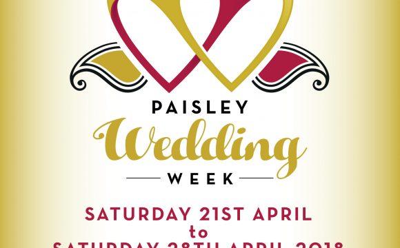 Paisley Wedding Week 2018
