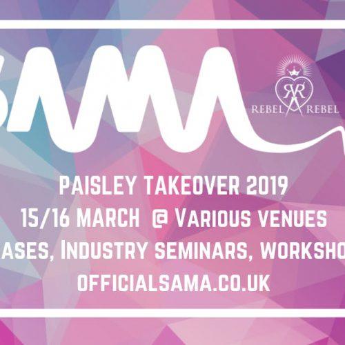 Paisley Takeover – Scottish Alternative Music Awards