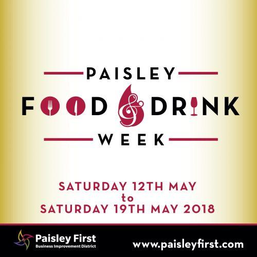 Paisley Food and Drink Week 2018