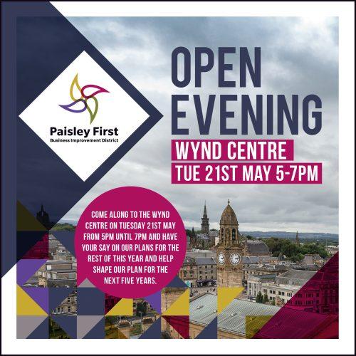 Paisley First Open Evening