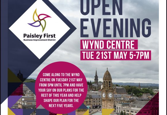 Paisley First Open Evening