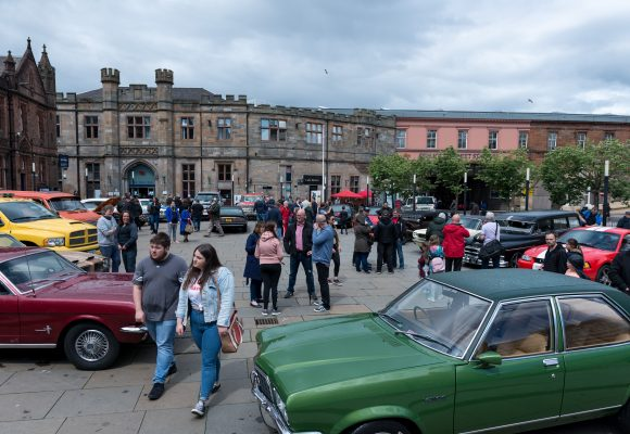 CarFest hat-trick success in Paisley town centre