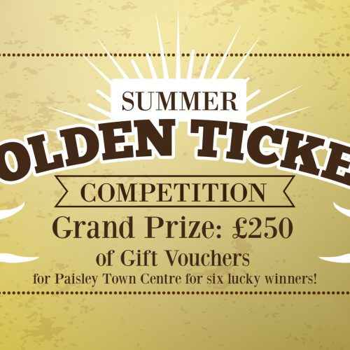 Will you win £250 of Paisley town centre gift vouchers this summer?