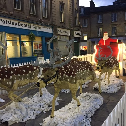 BRICKLIVE Christmas comes to Paisley this festive season!